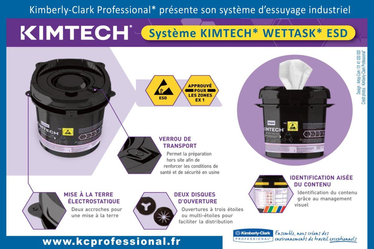 KCP, premier système d'essuyage humide garanti pour les zones ATEX et ESD