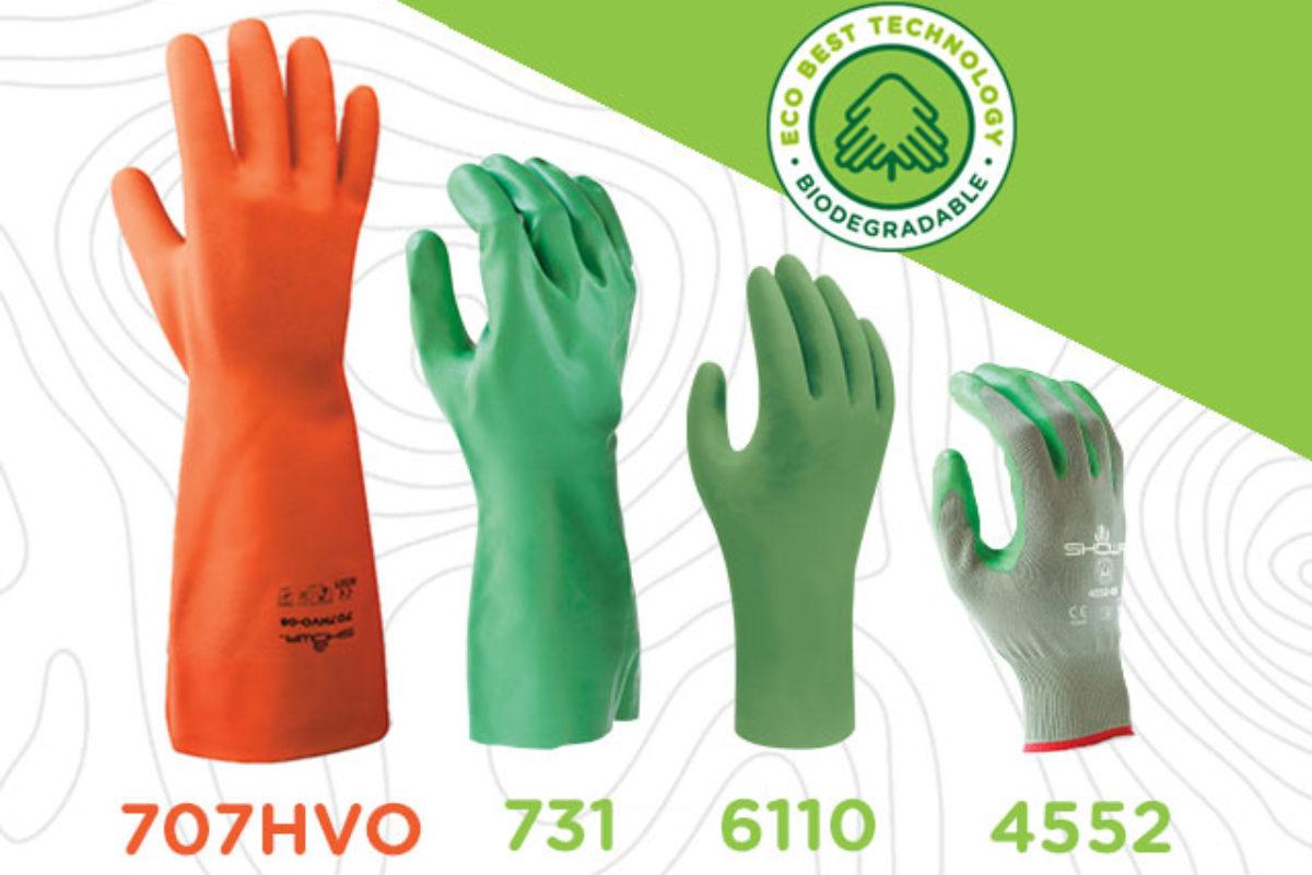 Showa présente des gants EPI biodégradables conforme aux normes UE