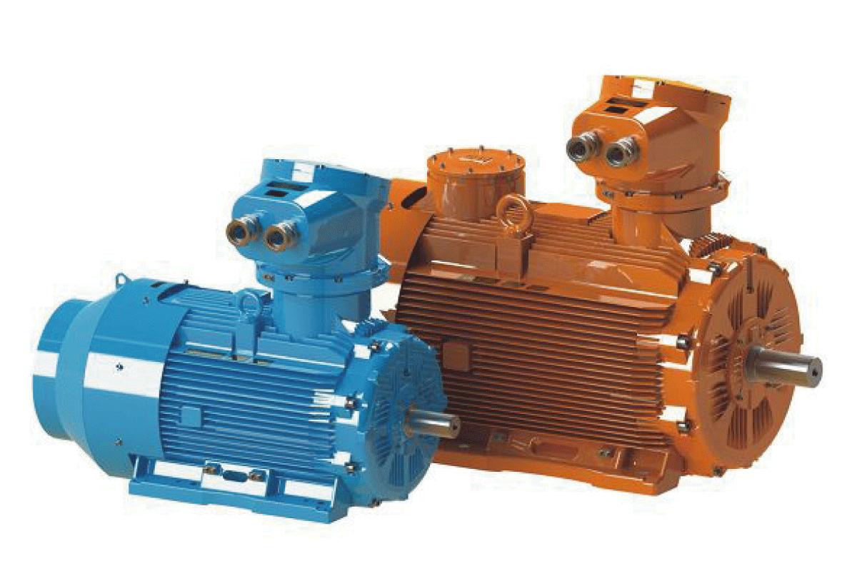 Sécurité et économies d'énergie alliées dans le nouveau moteur ATEX antidéflagrant WEG