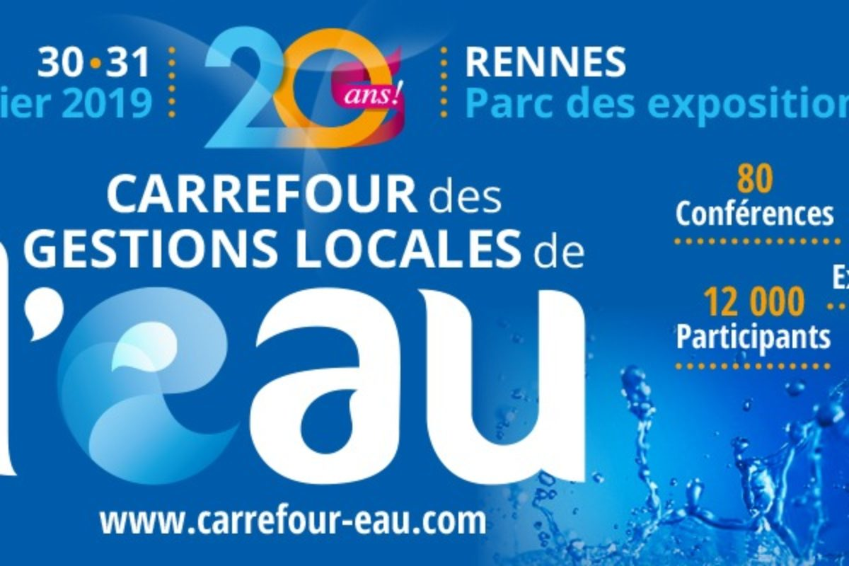 20eme CARREFOUR DES GESTIONS LOCALES DE L'EAU