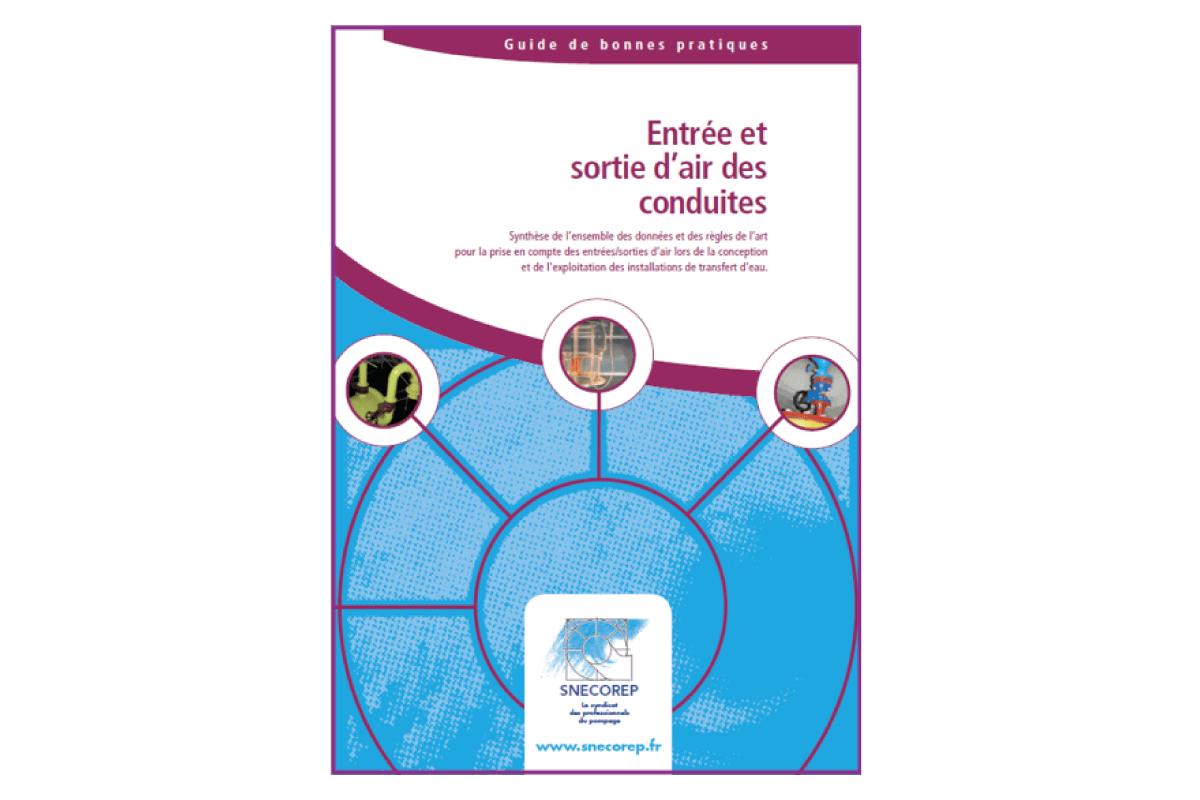 """Le livre du mois: """"Guide de bonnes pratiques: Entrées et sorties d'air des conduites"""""""