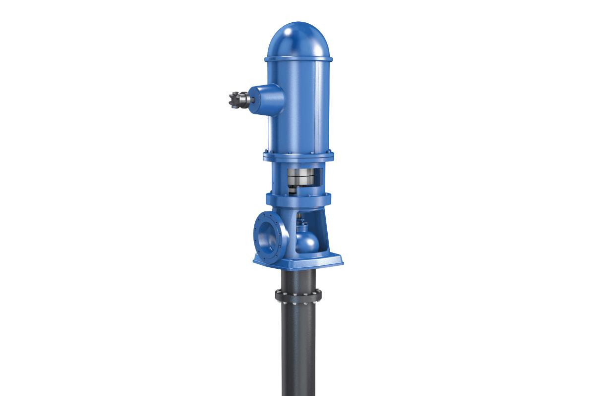 KSB propose une nouvelle gamme de pompe verticale à ligne d'arbre