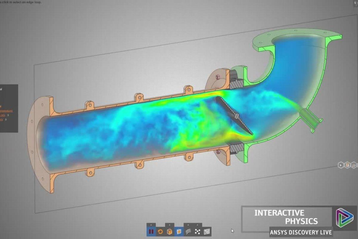 Ansys Discovery Live permet de concevoir et de simuler des produits industriels en temps réel