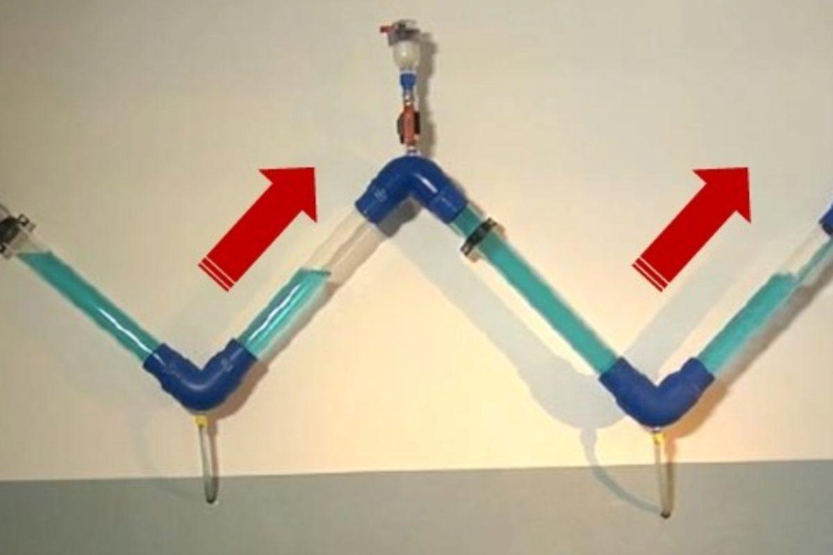 Optimiser le pompage de l'eau claire et usée par l'utilisation des ventouses, partie 1