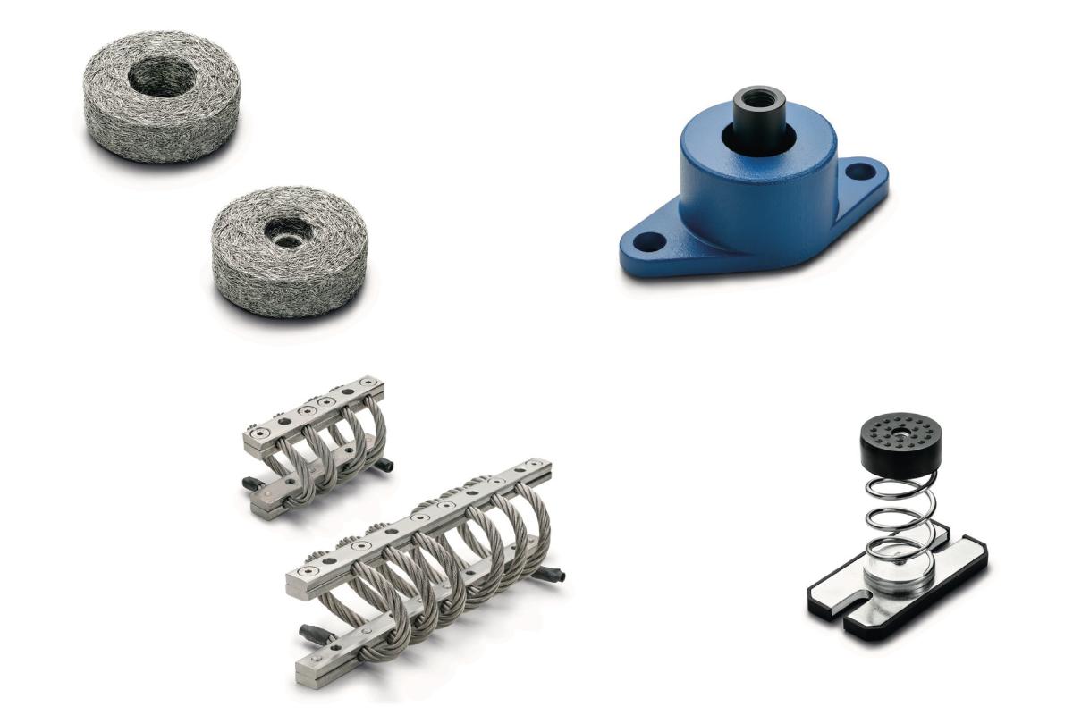 """Une gamme complète """"d'antivibratoires"""" pour couvrir l'ensemble des applications industriels"""