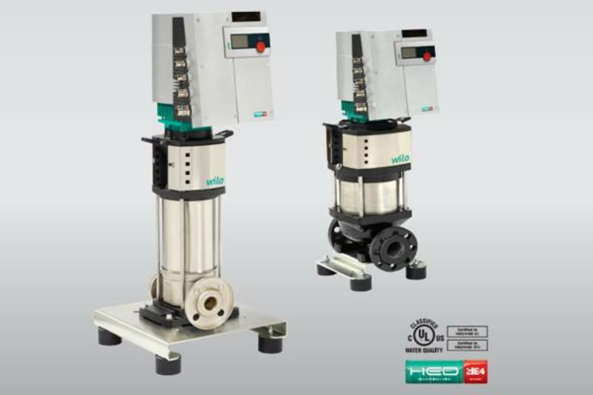 Pompes centrifuges : économies substantielles grâce à la variation de vitesse